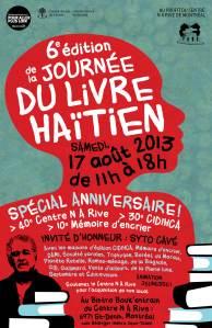 Affiche Journée du livre haïtien